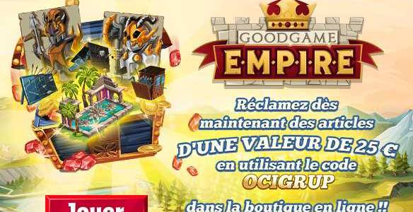 Goodgame Empire Giveaway