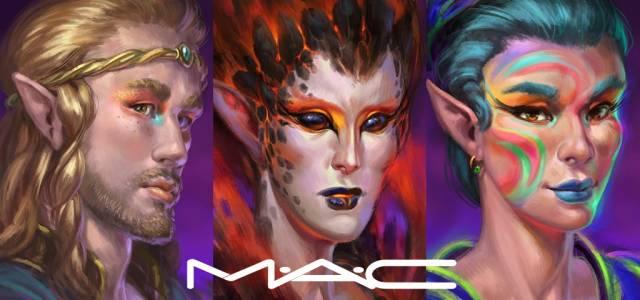 Elvenar Halloween avec M-A-C Cosmetics