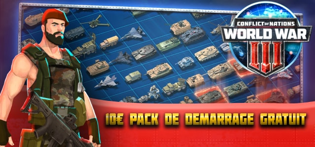 Conflict of Nations deux mois premium High Command