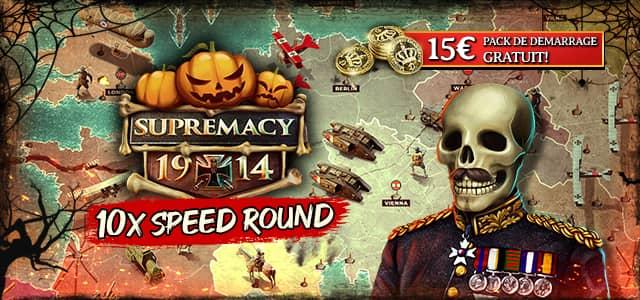 Halloween in Supremacy 1914 et Swift Strike Event par célébrant Halloween